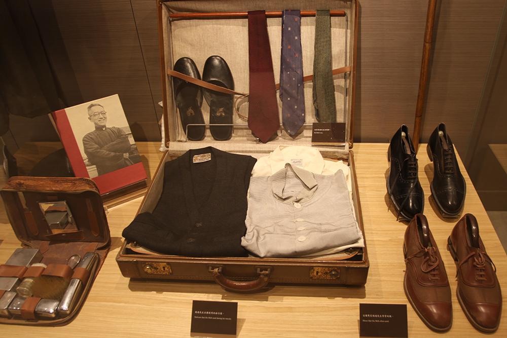 胡適先生的旅行箱,可窺見他獨特的服裝品味。圖│研之有物