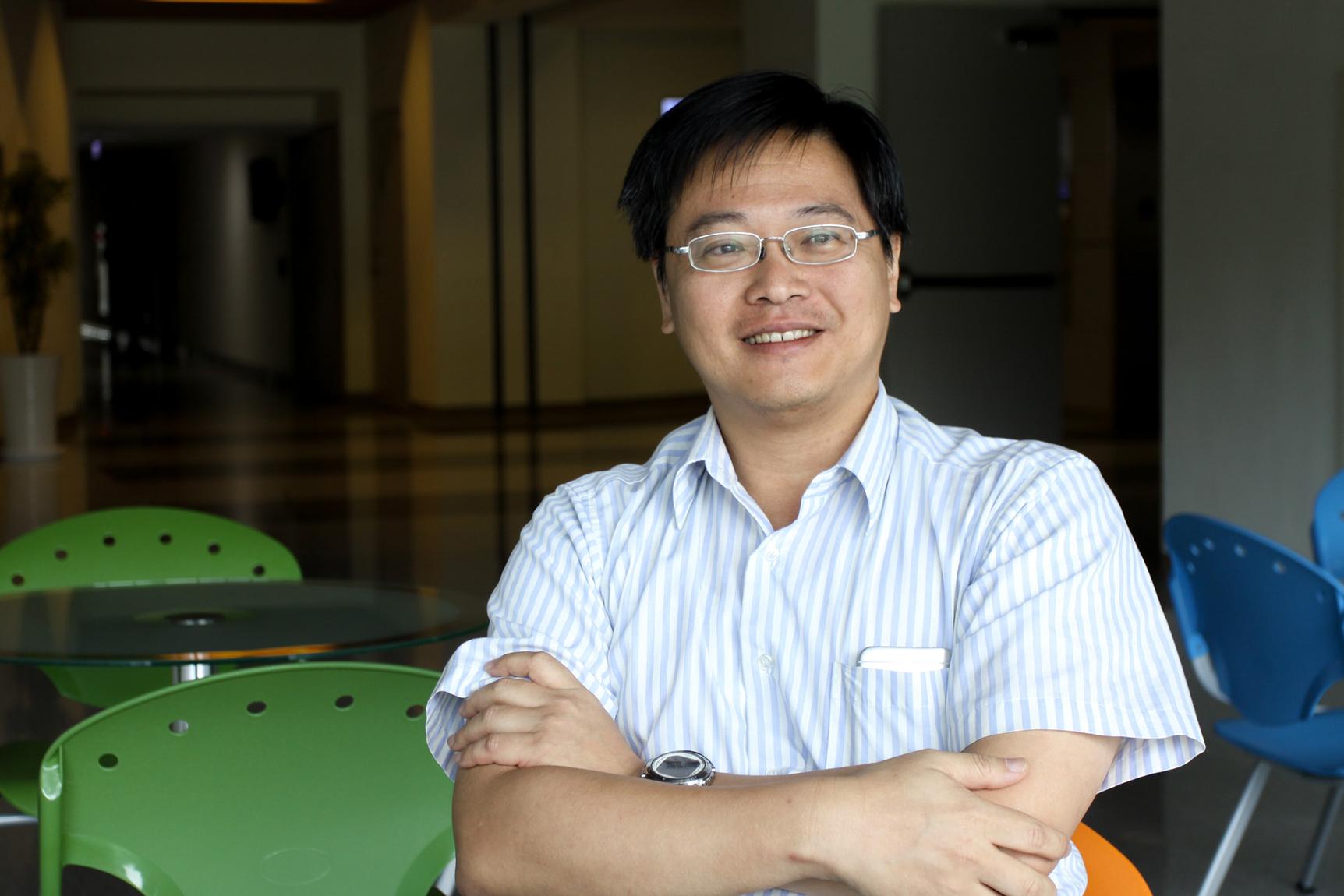 風力發電汙染低,是絕佳的綠色能源。中研院應科中心的郭志禹副研究員,目前進行的研究,就是以這個領域為核心。攝影│張語辰