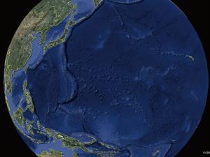 是地球還是海球? 地球雖然叫「地」球,但放眼所及絕大部分是藍色的「海」。圖片來源│Google Earth