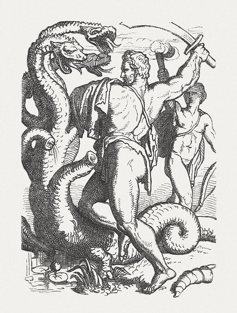 希臘神話九頭蛇的再生能力:砍了一個我,還有千千萬萬個我。圖│iStock
