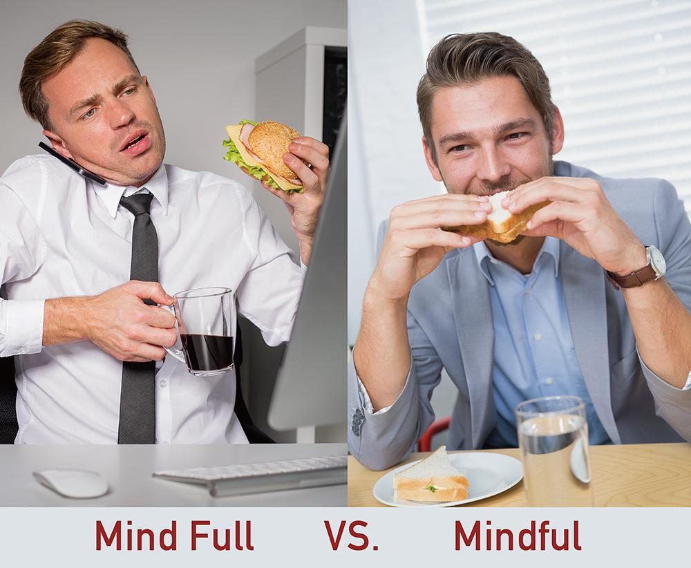 吃飯時,你是煩惱一堆的 Mind Full ,還是享受當下滋味的 Mindful ?圖│研之有物