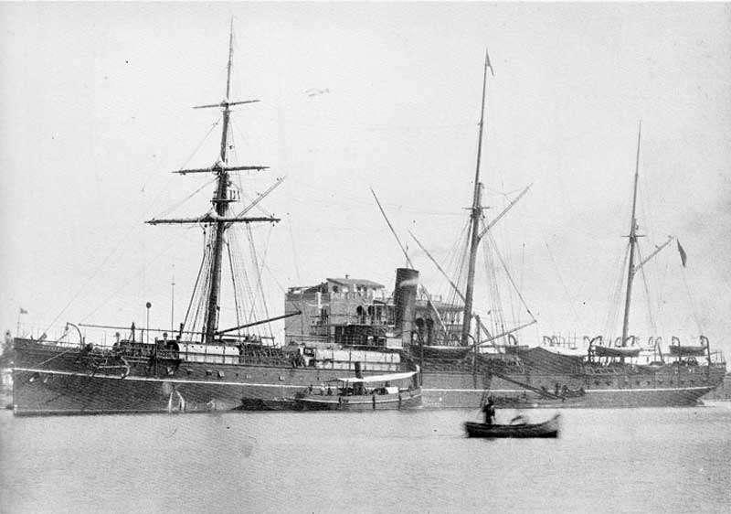 英國籍蒸汽輪船布哈拉號 (SS Bokhara), 1892 年時載運香港板球協會的成員到上海參加比賽,回程途經台灣北部時遭遇颱風,最後沉沒於澎湖姑婆嶼附近,造成約 130 人不幸身亡,僅 20 餘人獲救。圖片來源│臧振華