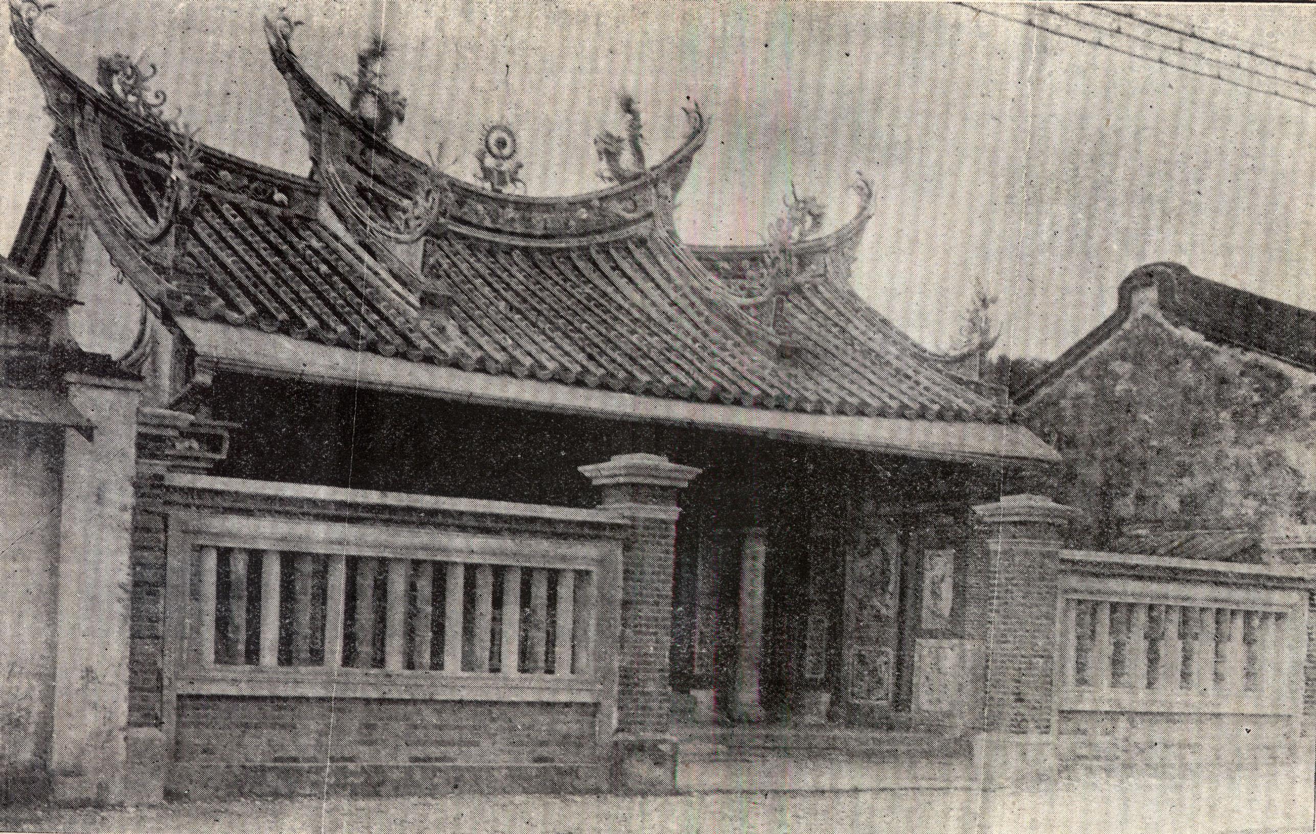 西來庵是一座瘟神廟,主神為五福大帝(五瘟神),是余清芳的起義基地。圖│康豹提供