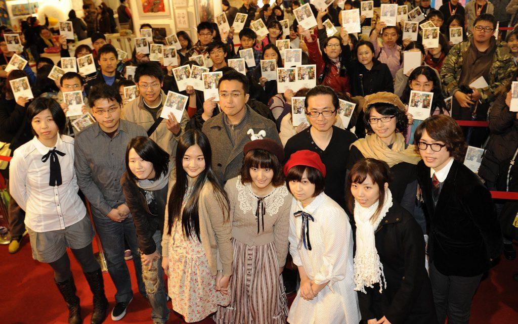 2012 年台北國際書展,《 CCC 創作集》首度舉辦聯合簽名會,一開始擔心沒有人來,想不到創造全場爆滿的里程碑。 圖片來源│CCC 編輯部