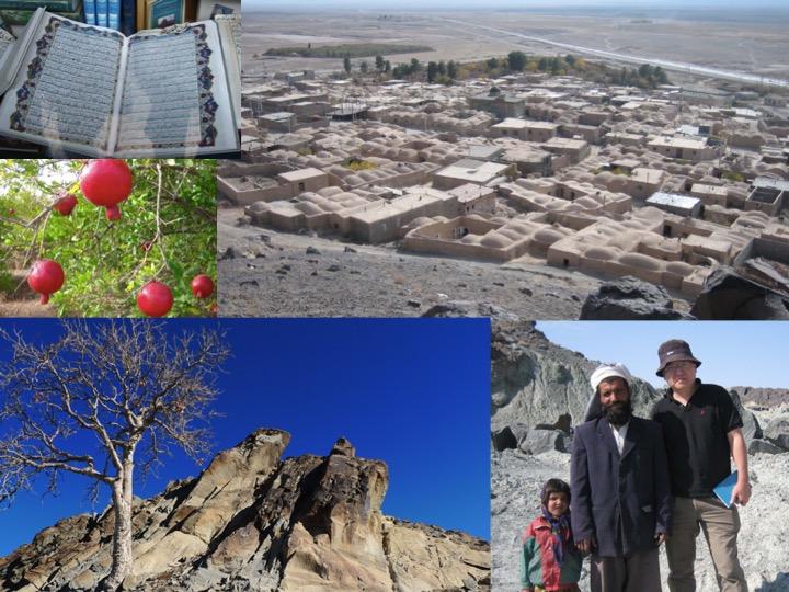 鍾孫霖前往伊朗跑野外地質調查,發覺當地民眾十分友善。圖│鍾孫霖提供
