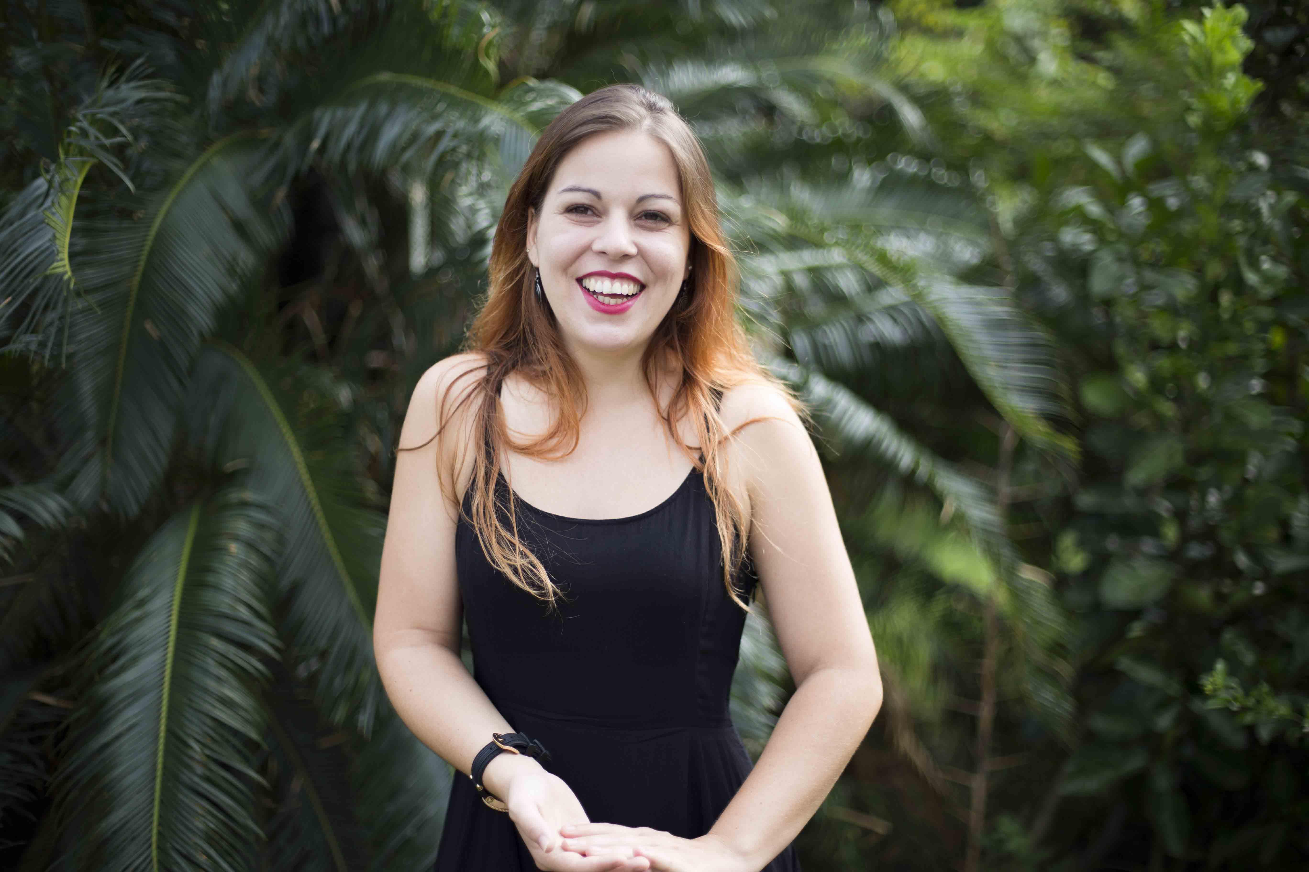 Lauriane 笑說:「我原本在法國研究山林生態,來臺灣以前從來沒有潛水過、也沒有看過珊瑚礁。」圖│研之有物