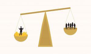 從實證研究結果看見,法律對權貴者與弱勢者來說,並不是機會均等的。這是政治學中「資源不平等理論」的體現。圖│研之有物