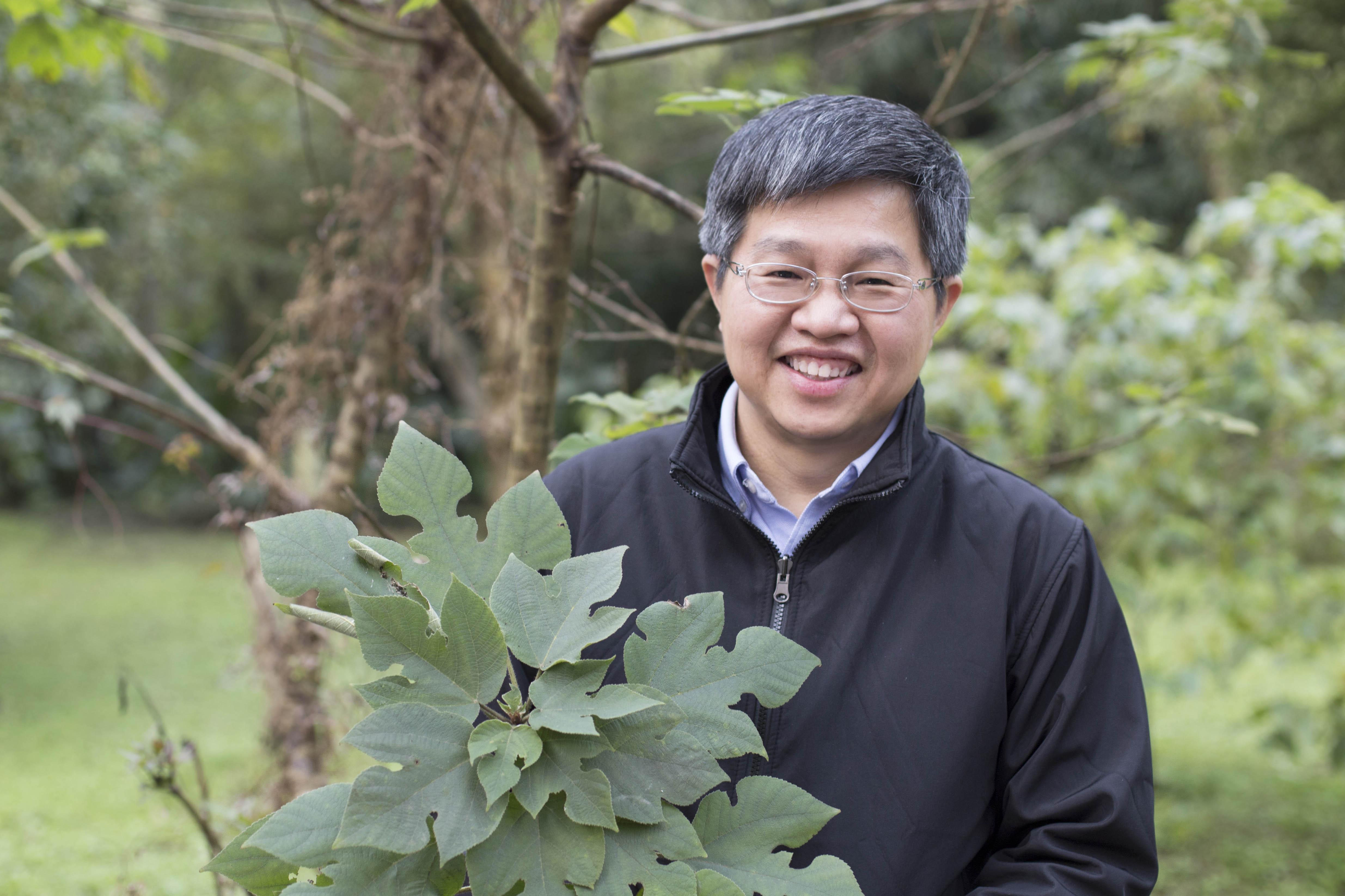 對於從構樹葉綠體基因描繪出南島語族史前航線、佐證「出臺灣說」的研究過程,鍾國芳認為是「努力與幸運的結合」。 攝影│張語辰