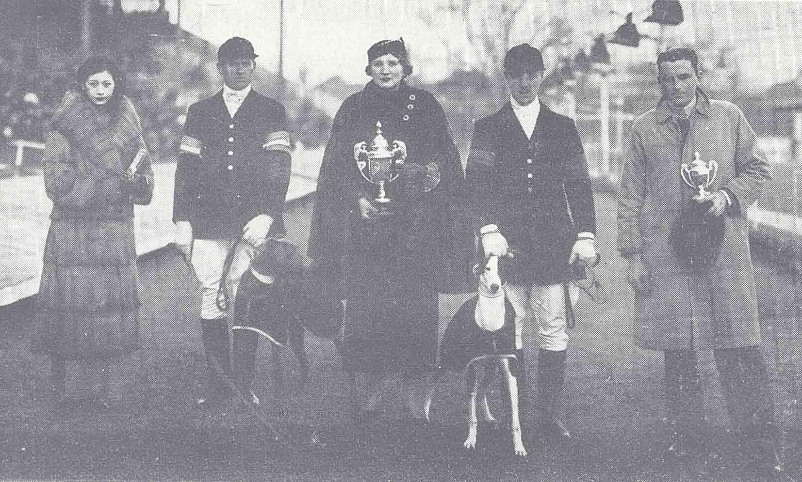 1936 年 1 月跑狗頒獎典禮。 資料來源│上海圖書館《全國報刊索引》資料庫