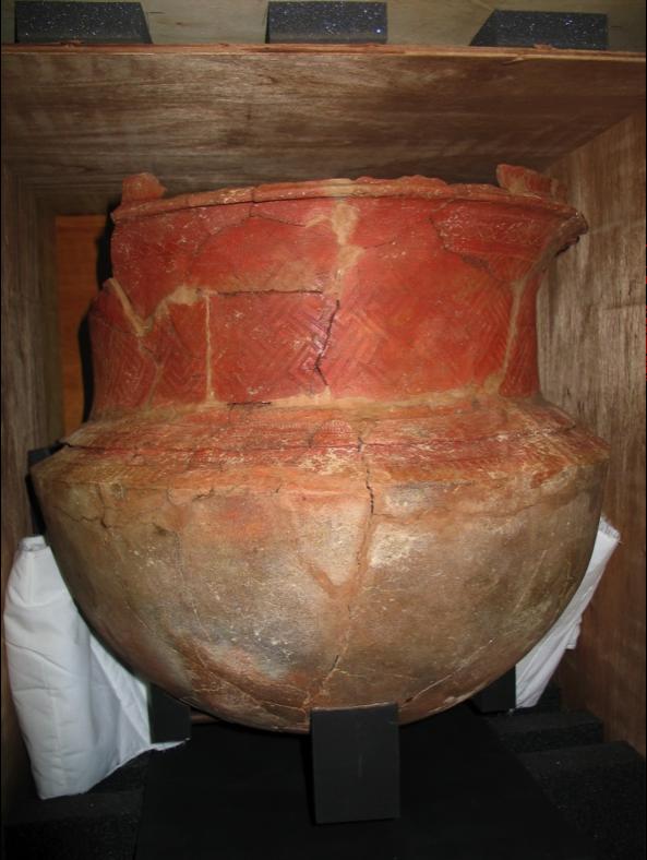 新喀里多尼亞島 13A 遺址的 Lapita 大陶器。圖│邱斯嘉,取自〈陶器的反撲〉,《芭樂人類學》專欄文章