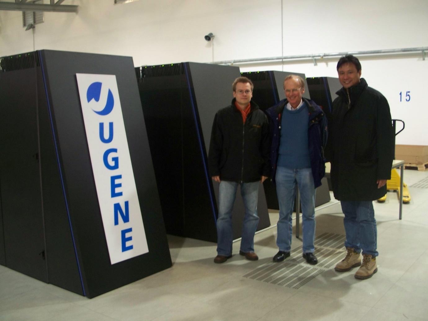 于利希研究院的超級電腦中心。 圖片來源│林榮信提供