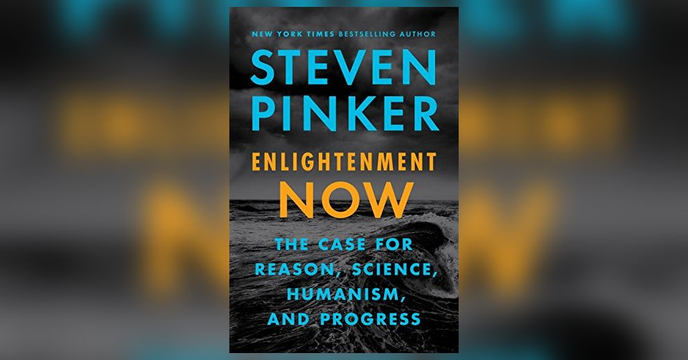 世界是在變好或變糟?《Enlightenment Now:The Case for Reason, Science, Humanism, and Progress》書中,作者 Steven Pinker 用理性和資料來判斷。 圖片來源│Viking 出版社