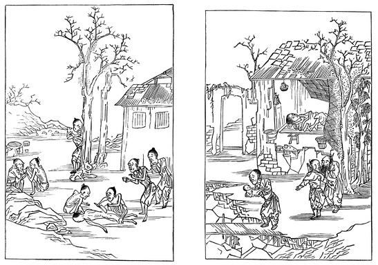 晚明「旱蝗大饑,民父子相食」的情況,也被寫進了《醒世姻緣傳》的情節中。示意圖來源│iStock