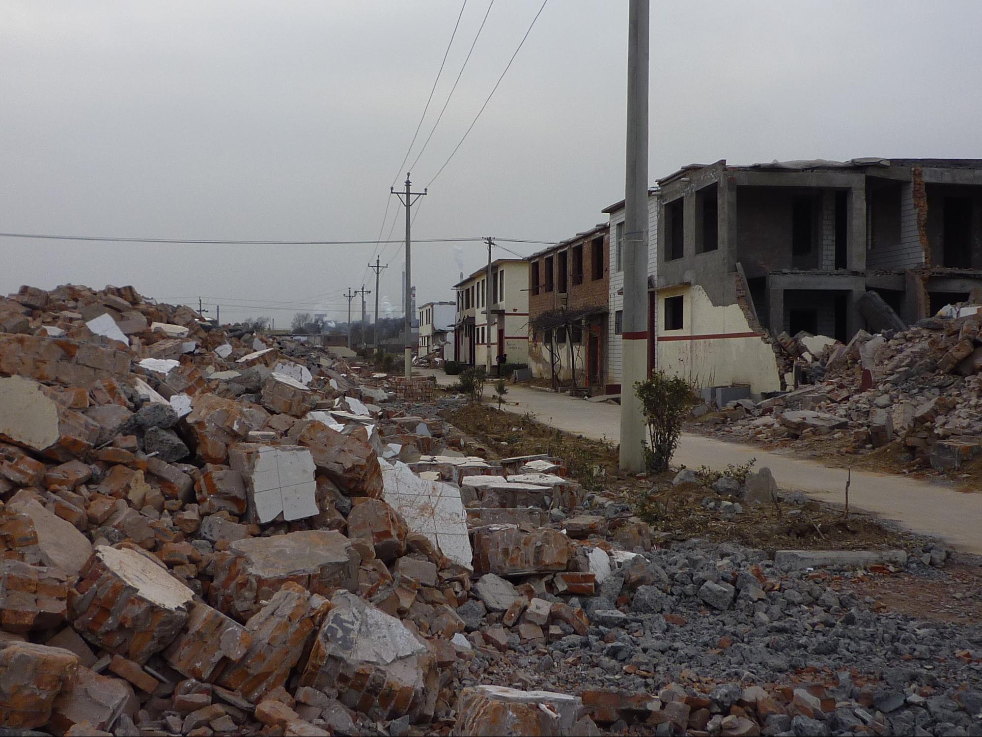 花村轉為平地。圖片來源│王舒俐,攝於 2010 年
