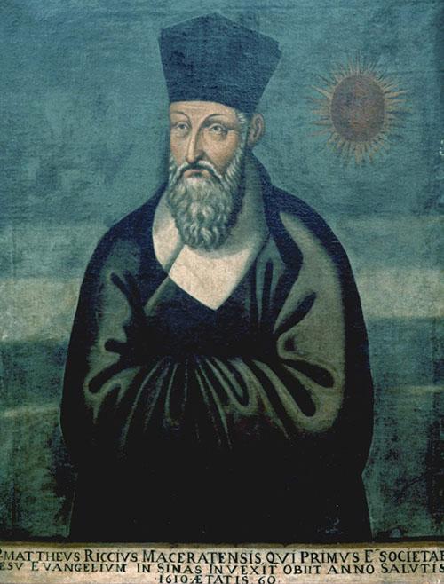 例如,耶穌會傳教士利瑪竇,出生於現今義大利地區,離家遠赴印度、中國傳教。圖│維基百科