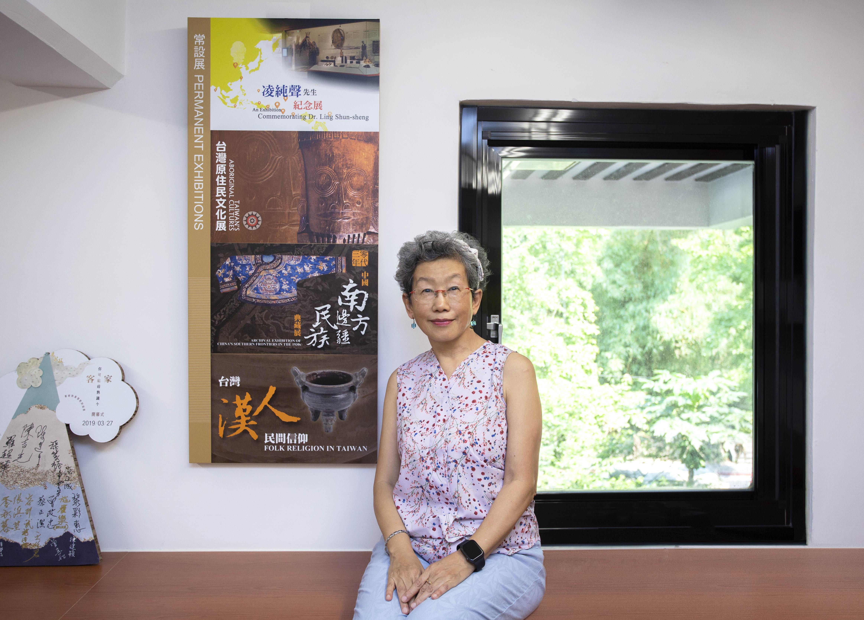 中研院民族所何翠萍副研究員,曾任民族所博物館主任,策畫館內多項重大展覽,主導民族所與原民團體合作的第一次共作展示「她方」。攝影│林洵安