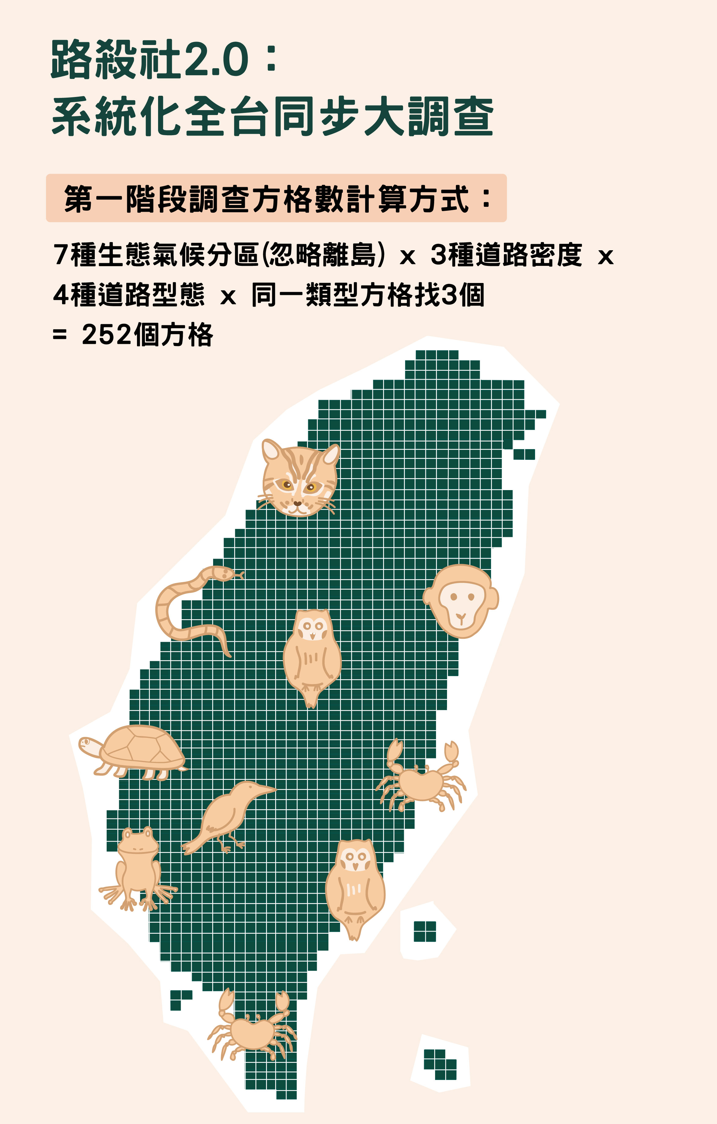 資料來源│台灣動物路死觀察網圖說重製│林洵安