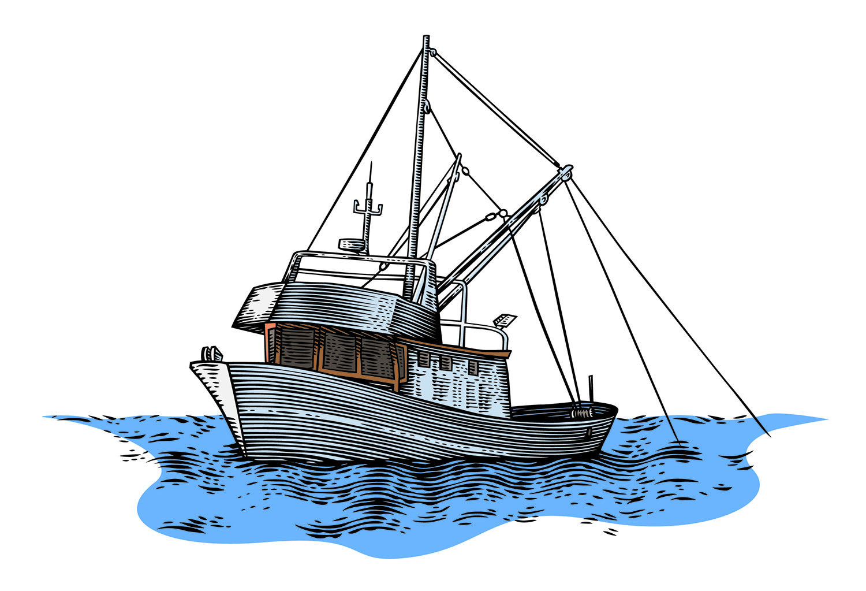「白浪滔滔我不怕,掌穩舵兒往前划」臺灣捕魚歌勵志又朗朗上口,但在清代,漁民多以定置漁網、小型漁船進行捕撈,大風大浪影響極大。圖│iStock